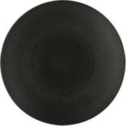 Тарелка мелкая «Экинокс» D=28см; черный