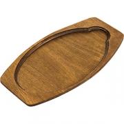 Подставка для сковор. 4020499 овал. дерево; коричнев.