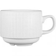Чашка чайная «Уиллоу» фарфор; 212мл; белый
