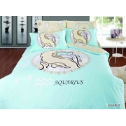 Постельное белье ARYA Знак Зодиака 200х220 AQUARIUS - Водолей