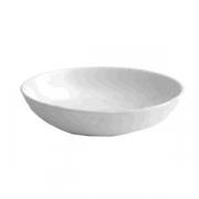 Салатник «Граффити», фарфор, 600мл, D=185,H=19мм, белый