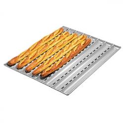 Форма для выпечки багетов 60*40см алюминий