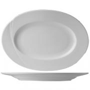 Блюдо овал «Атлантис» 32см фарфор