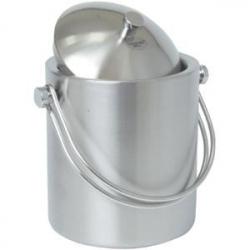 Емкость для льда метал.с крышкой