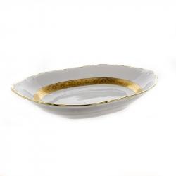 Хлебница «Лента золотая матовая 2»