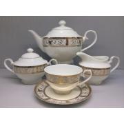 Сервиз чайный «Оригами» 17 предметов на 6 персон