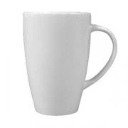 Чашка чайная «Монако Вайт»; фарфор; 227мл; белый