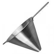 Дуршлаг конический «Проотель», сталь нерж., D=24,H=21,L=39.5см, металлич.