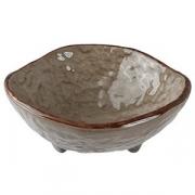 Салатник «Кунстверк», керамика, 282мл, D=140,H=55мм, зелен.,коричнев.