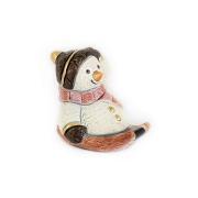 Статуэтка Снеговик на санках