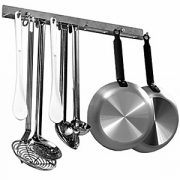 Держатель кухонного инв-ря 5крючков, сталь нерж., L=50см, металлич.