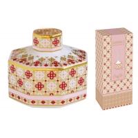 Диффузор (розовый) Сияние Лаунж с палочками в подарочной упаковке