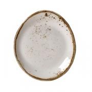 Тарелка пирожковая «Крафт», фарфор, D=15.5см, белый
