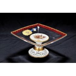 Ваза для конфет Oro Antico