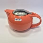 Чайник с ситечком 580мл цвет: Морковный
