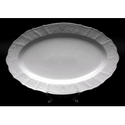 Блюдо овальное 39 см «Бернадот Платина 2021»
