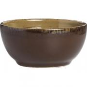 Салатник коричнево-оливковый D=14, H=6.3см