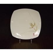 Набор 6 тарелок квадратных 17 см «Восточная орхидея»