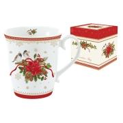 Кружка (белая) Рождественская коллекция