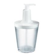 Контейнер для жидкого мыла FLOW Koziol 88 х 88 х 177мм (прозрачный)