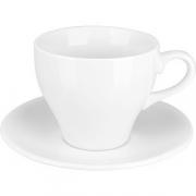 Пара чайная «Коллаж» фарфор; 200мл; белый