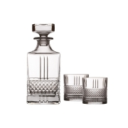 Набор для виски: декантер + 2 стакана Verona в подарочной упаковке