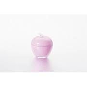 Вазочка с крышкой «Яблоко» 7,5*9 см, цвет: фиолетовый