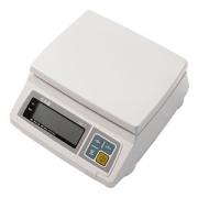 Весы электр. SW-20 20кг с адаптер., пластик,металл, H=13.7,L=24.5,B=22.5см, 10вт, белый