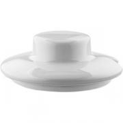 Крышка для сахарницы арт.0679 «Кашуб-хел» фарфор; белый