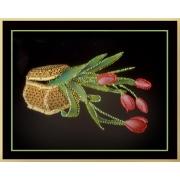 Шкатулка с тюльпанами