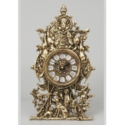 Часы «Сцены охоты» золотистый 29х17 см.