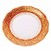 Набор тарелок «Лист красный» 24 см.