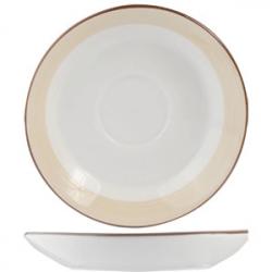 Блюдце «Чино» d=16.5см фарфор