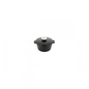 Кастрюля для сервировки с крышкой «Революшн» D=136, H=92мм; черный