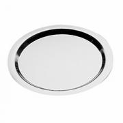 Поднос кругл «Файнес» d=35см,метал.