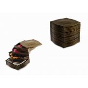 Ящик для чая и кофе Legnoart 18,5 x 18,5 x 18см (темно-коричневый (венге))