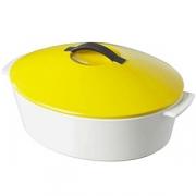 Утятница с желтой крышкой 4.2л, L=32.5см