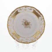 Набор тарелок 24 см. 6 шт. «Кленовый лист белый»
