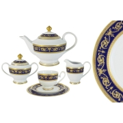 Чайный сервиз Императорский (кобальт) 23 предмета на 6 персон
