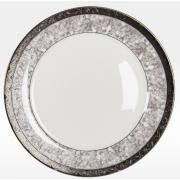 Набор закусочных тарелок «Серебряный иней» на 6 персон