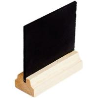 Табличка-ценник деревян. основание L=75, B=50мм