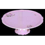 Тортница 33 см н/н. «Алвин розовый»