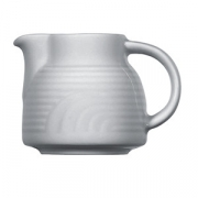 Молочник «Карат», фарфор, 275мл, D=90,H=90,L=125мм, белый