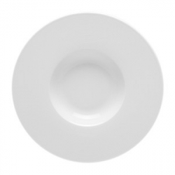Тарелка глуб.с широк.бортом «Это», фарфор, D=275,H=35мм, белый