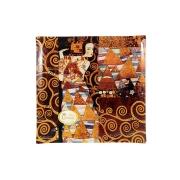 Тарелка квадратная Ожидание (Г. Климт)