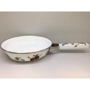 Японская эмалированная сковорода 22 см, серия «Фрукты»