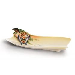 Блюдо «Райский сад» 35х12 см