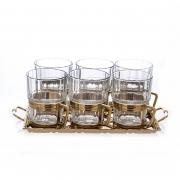 Набор для чая с подносом «Альберти Ливио»