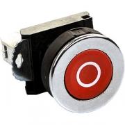 Кнопка к соковыж.7010425 «Стоп» L=40, B=30мм; серый