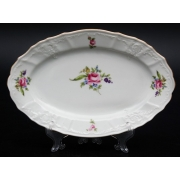 Блюдо овальное 26 см «Полевой цветок 5309011»